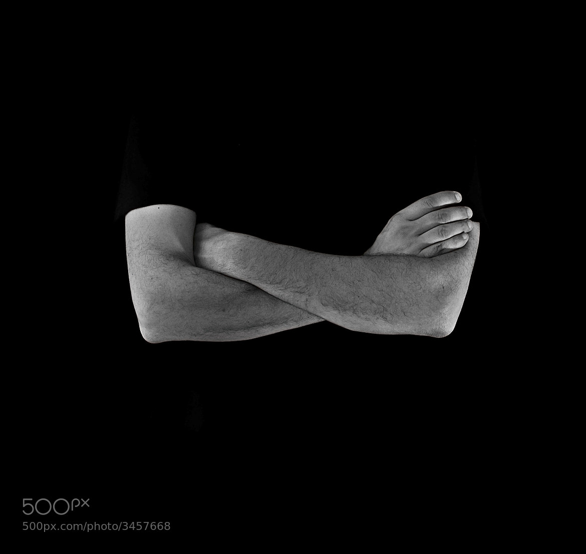 Photograph Crossed Arms by Cal Redback on 500px
