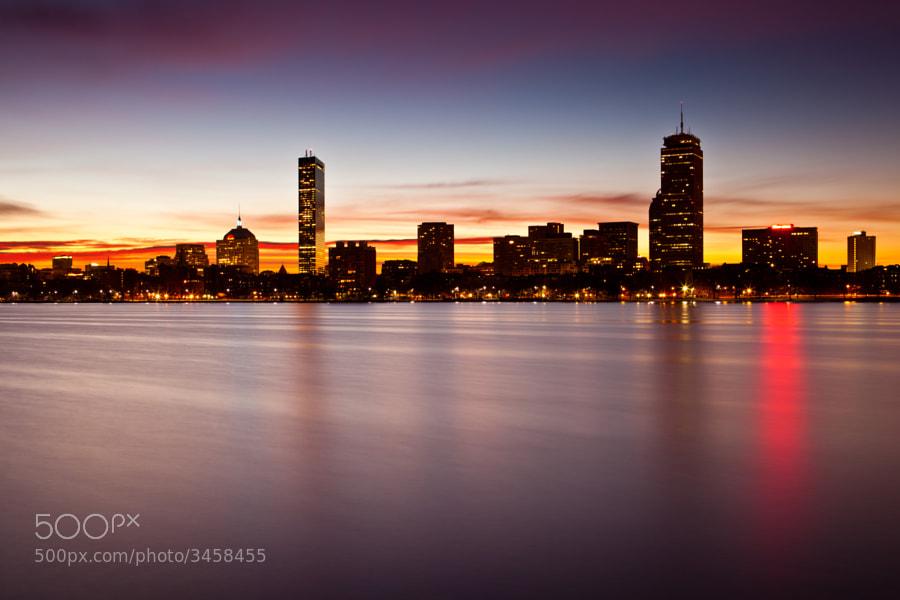 One of the nicer sunrises I've witnessed in Boston