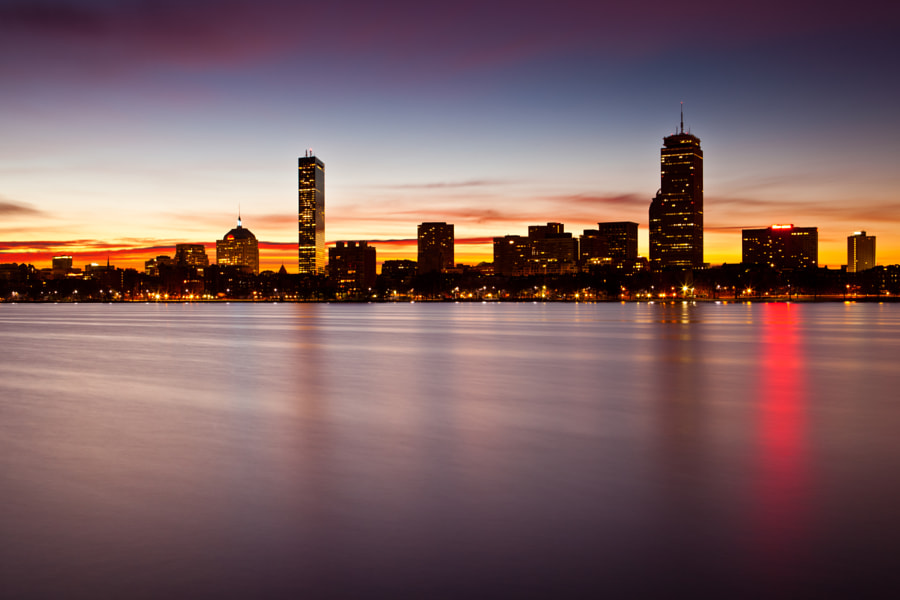 One of the nicer sunrises I've witnessed in Boston