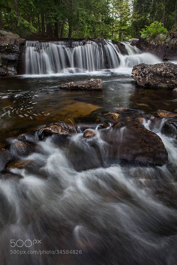 Photograph Groton Falls by Mitch Moraski on 500px
