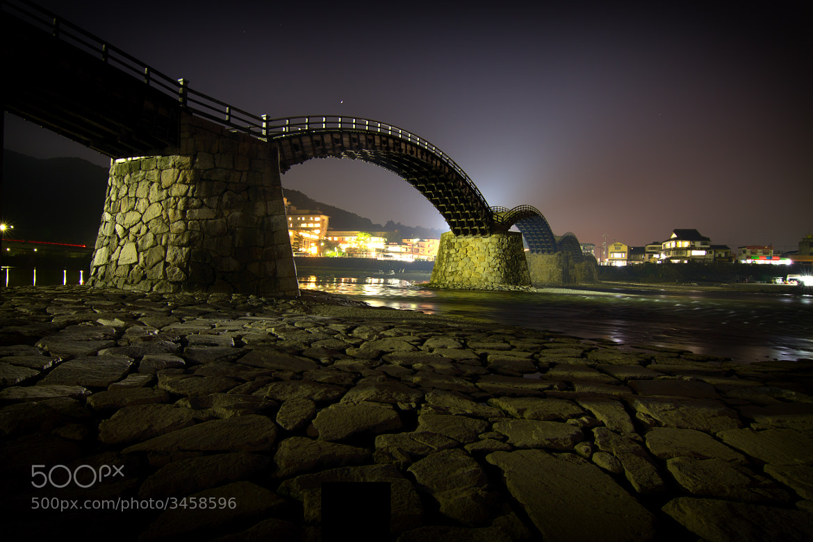Photograph Kintai Bridge at Night by David Edenfield on 500px