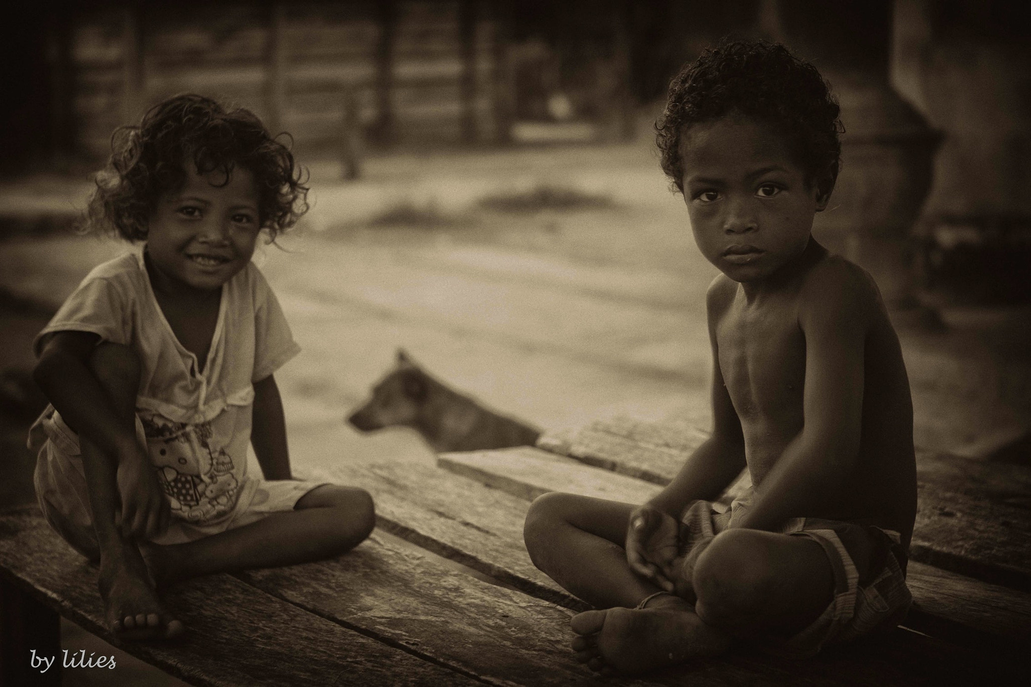 Photograph Children of Pam, Raja Ampat Papua, Indonesia by Lilies Santoso on 500px