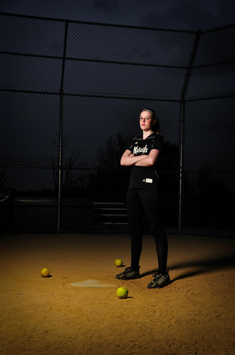Photograph Softball Player by Chris Edwards on 500px