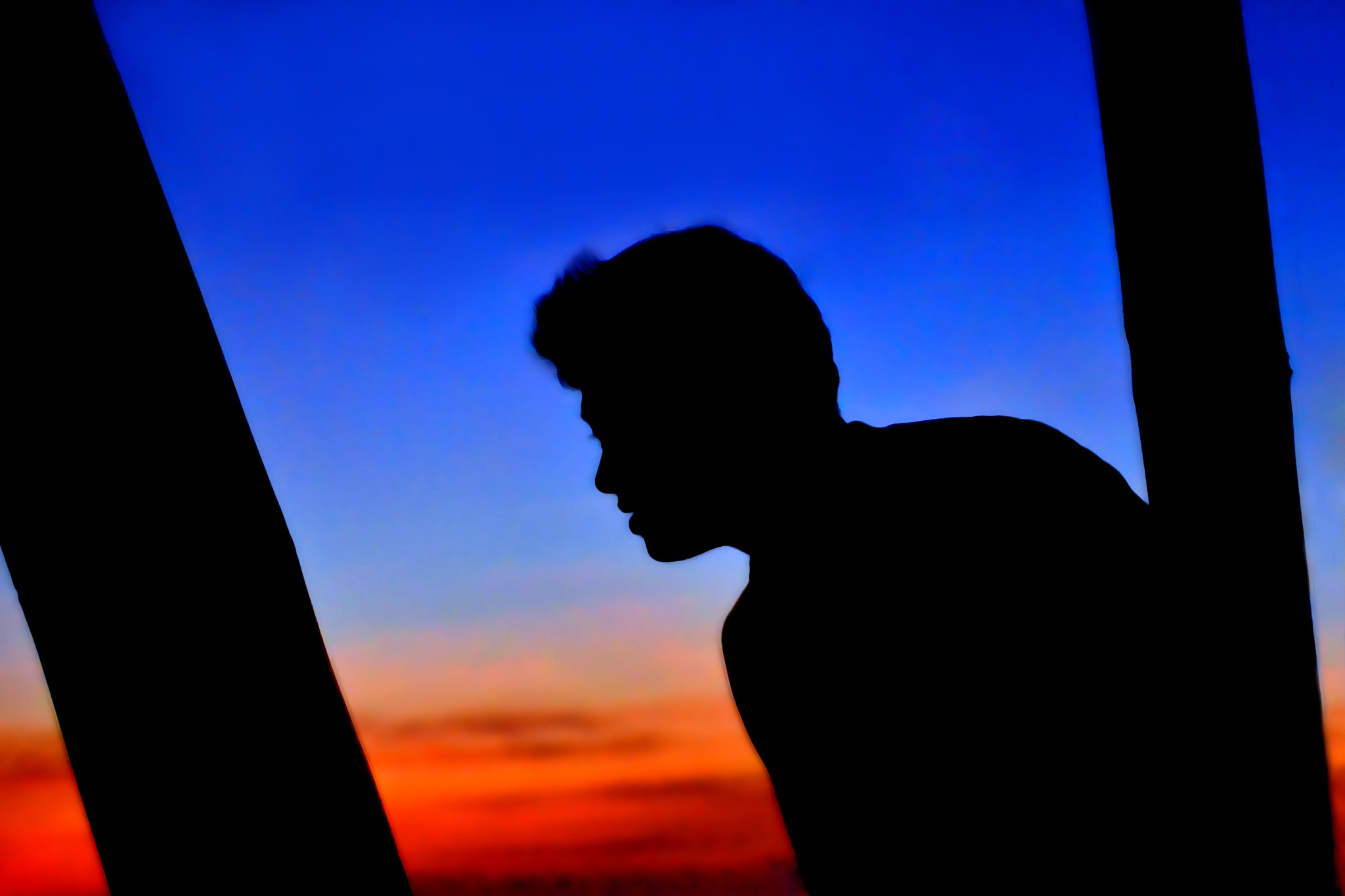 Photograph The Man in a Silhouette by Wilfredo Lumagbas Jr. on 500px