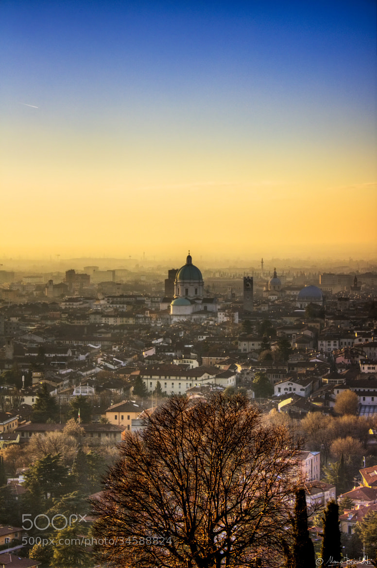 Photograph Sunset on my city by Mauro Bricchetti on 500px