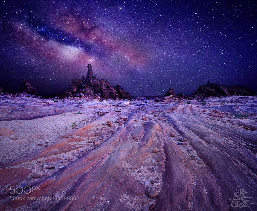 My way to the Milky Way in Saudi Arabia by Ghazi Al-Saif