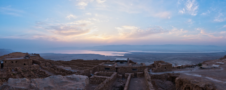 Photograph Top of Mount Masada by Matt Guzy on 500px