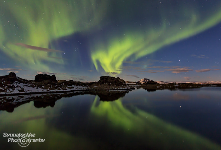 Photograph Dancing Auroras by Isabel Synnatschke on 500px