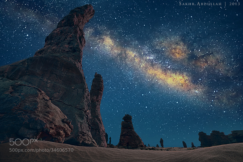 Praise to Who Created The Sky by Sakhr Abdullah on 500px.com