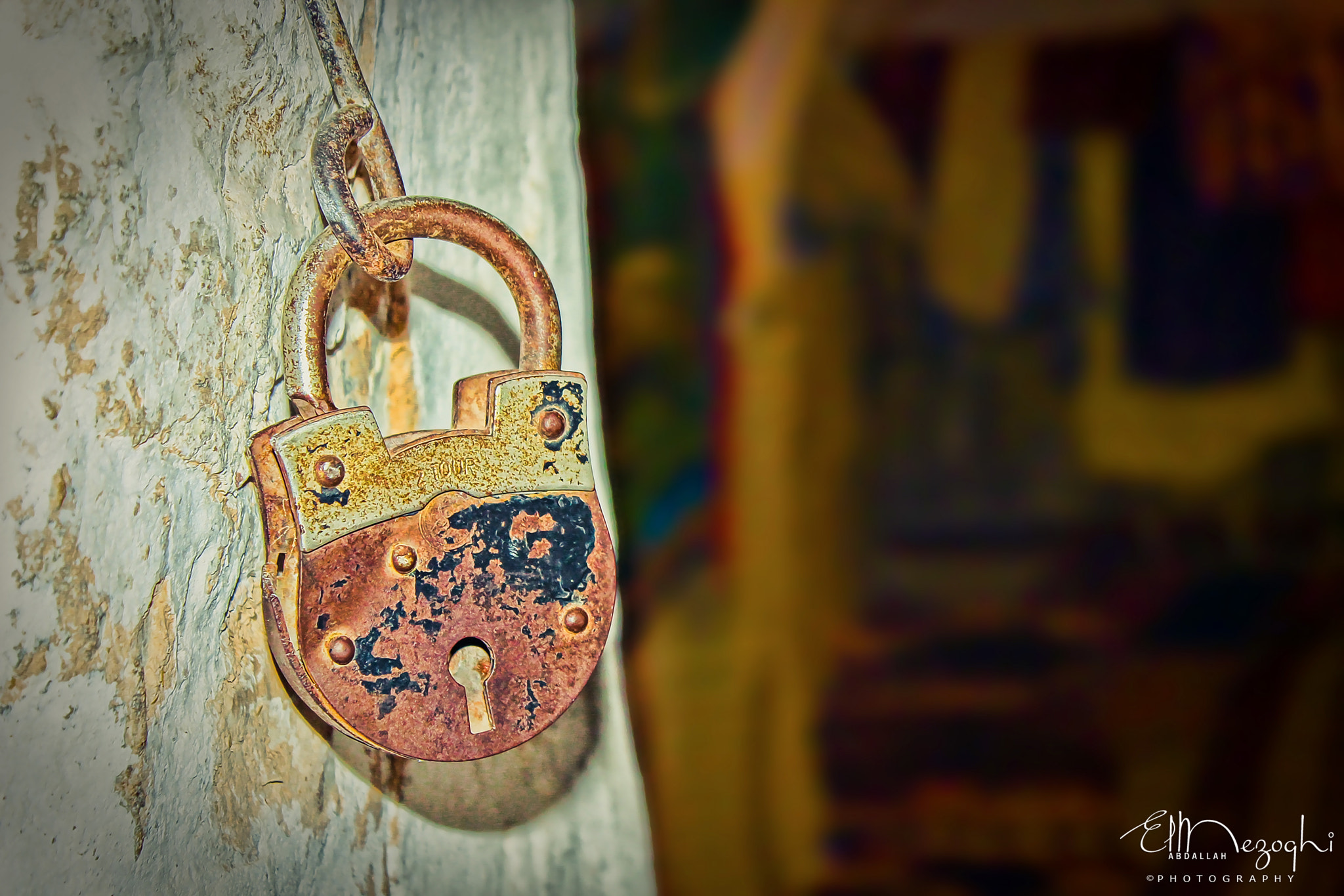 Photograph Old Lock by AbdallaH ElmezOghi on 500px