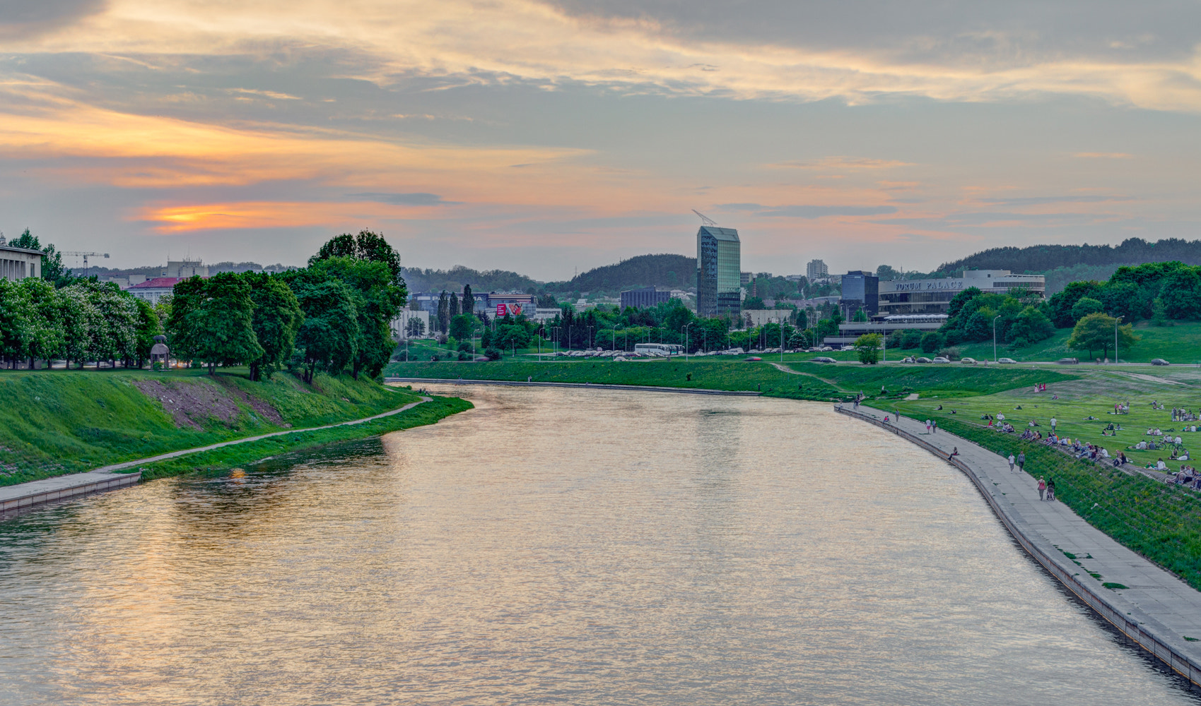 Photograph Sunset by Neris river by Norbert Durko on 500px