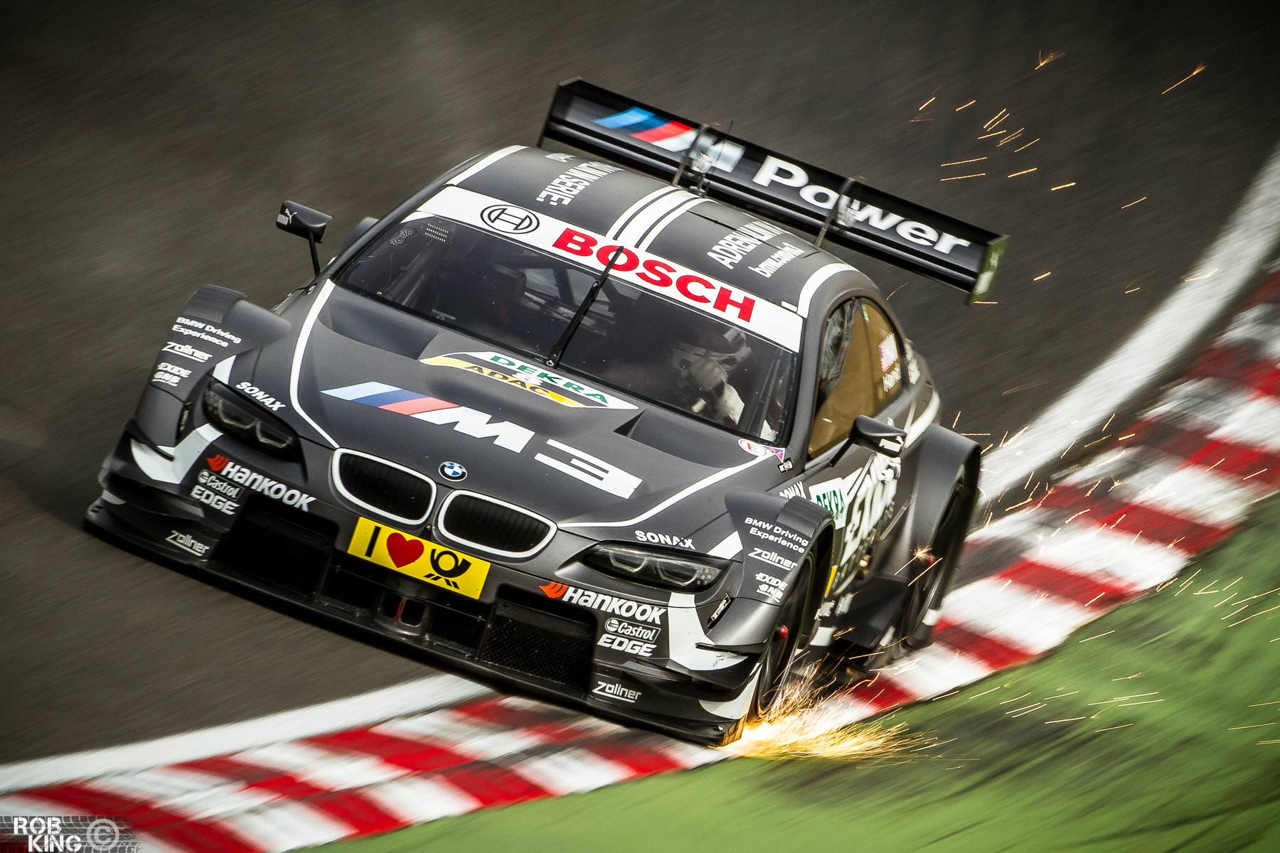 Photograph Joey Hand - BMW M3 DTM - 2013 by Robert King on 500px