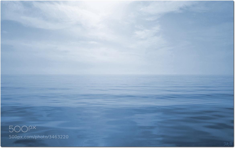Photograph Mediterranean Blue ... by Jean-Baptiste Rambaud on 500px