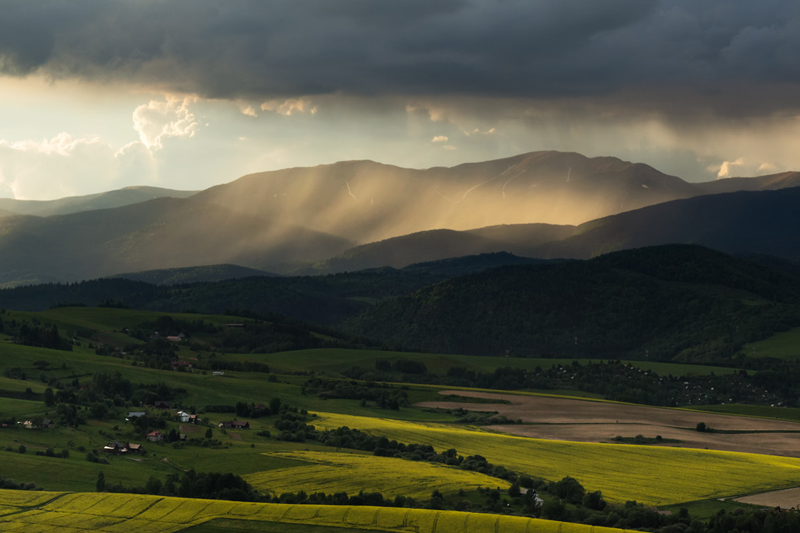 Photograph Rain on the Mountain by Roman Suja on 500px