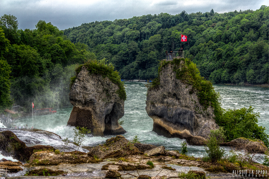 Photograph Rheinfall by Alessio La Spada on 500px
