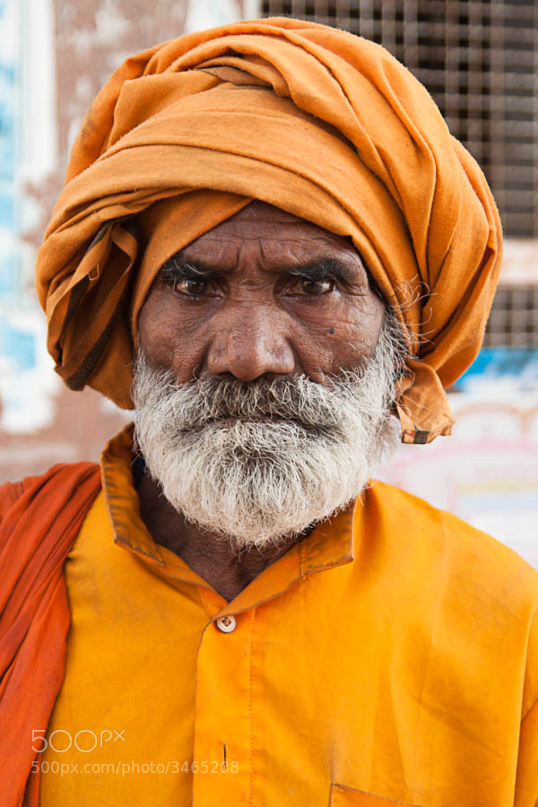Photograph Indian portrait by Pablo Arranz on 500px