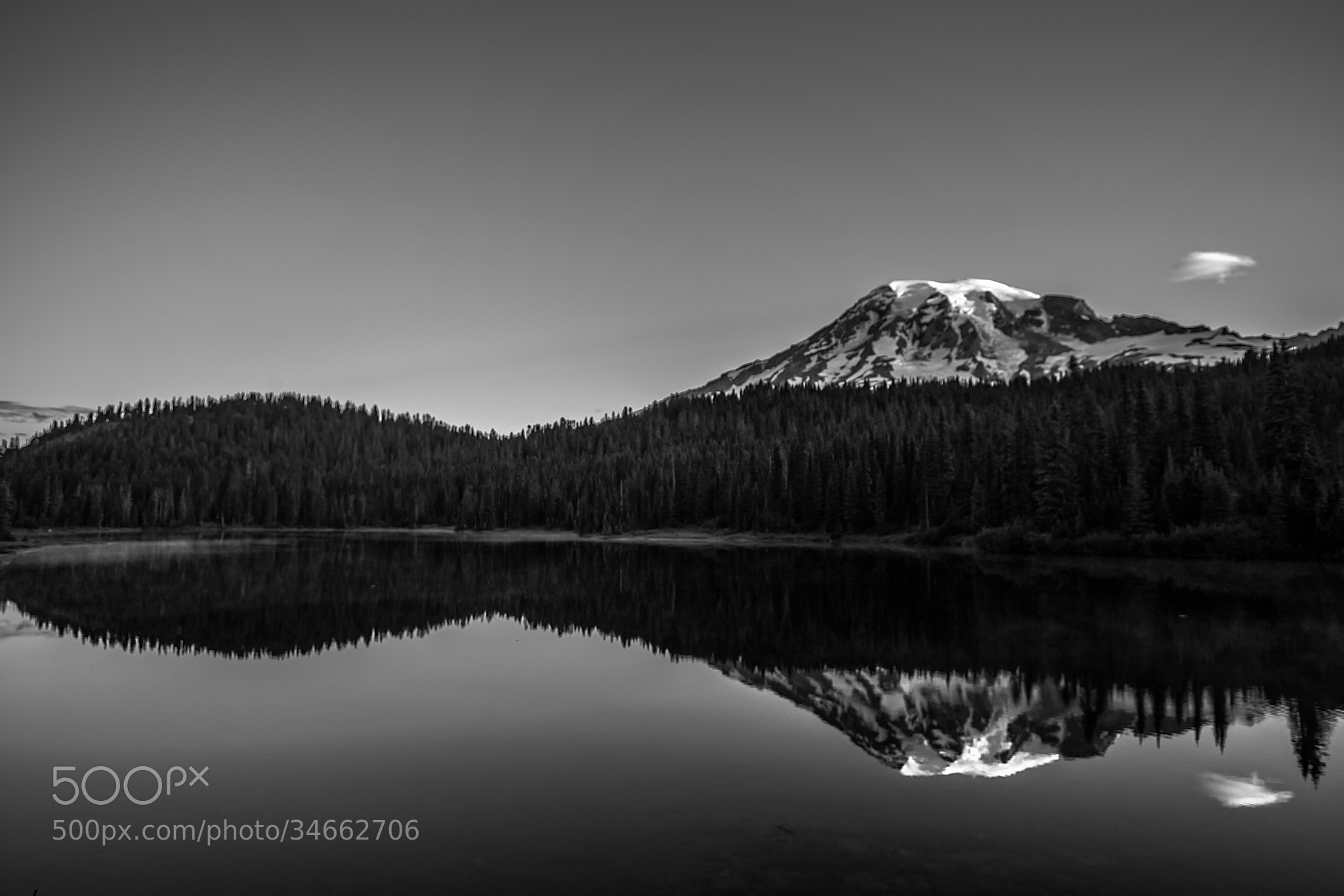 Photograph Black and White Reflections by Tabitha Hawk on 500px