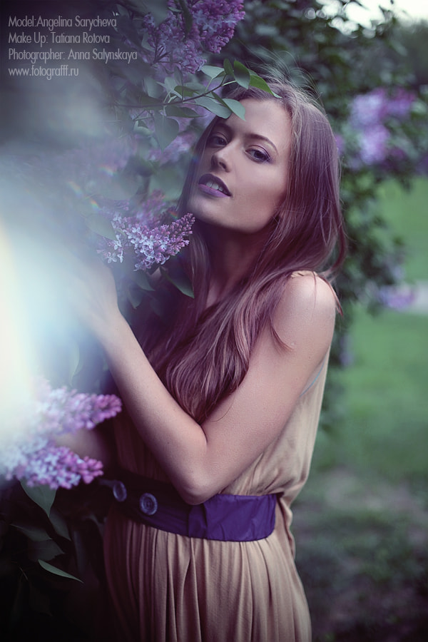 Photograph Violet one by Anna Salynskaya on 500px