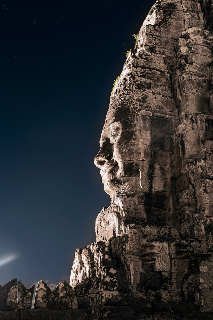 Photograph Bayon at night by Etienne Bossot on 500px