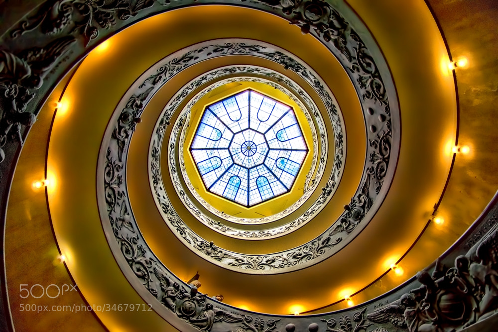 Photograph The Exit (Vatican museum stairs) by From_the_end on 500px