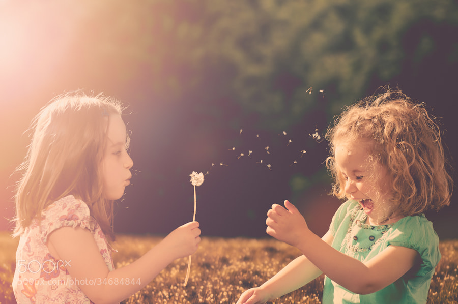 Photograph Kids days by Sidney Bovy on 500px