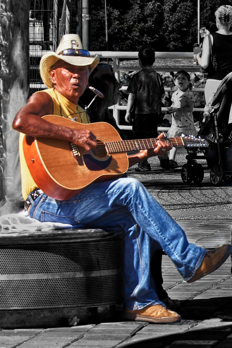 Photograph Music Man by Mike Thompson on 500px
