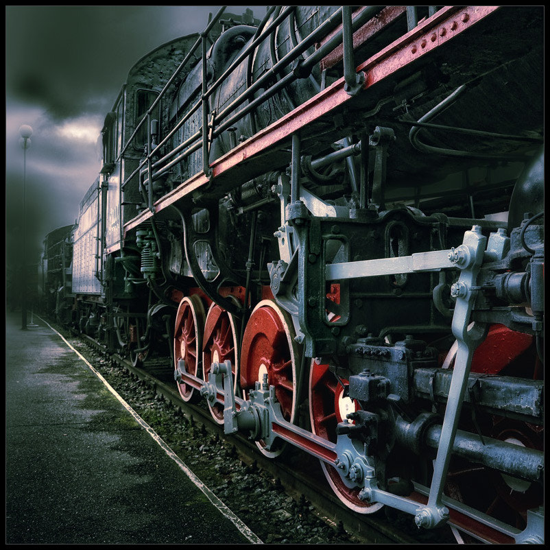 Photograph red wheels by Gennadi Blokhin on 500px