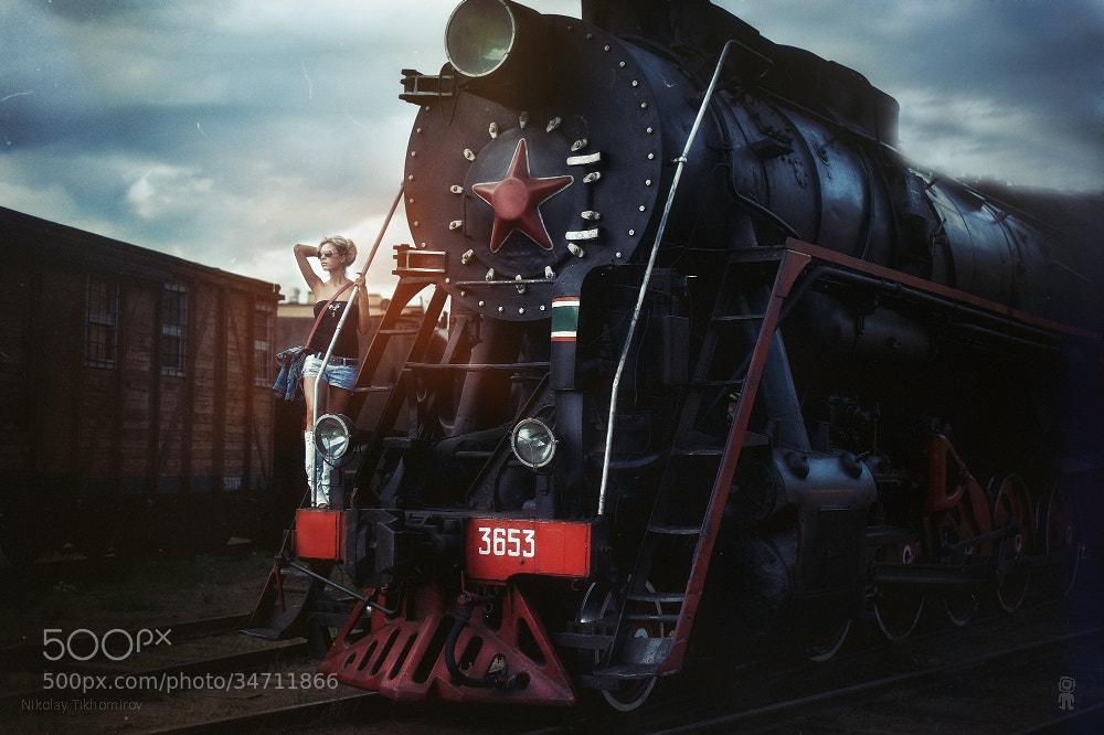 Photograph locomotive by Nikolay Tikhomirov on 500px