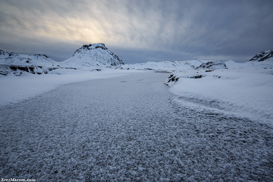 Photograph The Long, Icy Road by Erez Marom on 500px