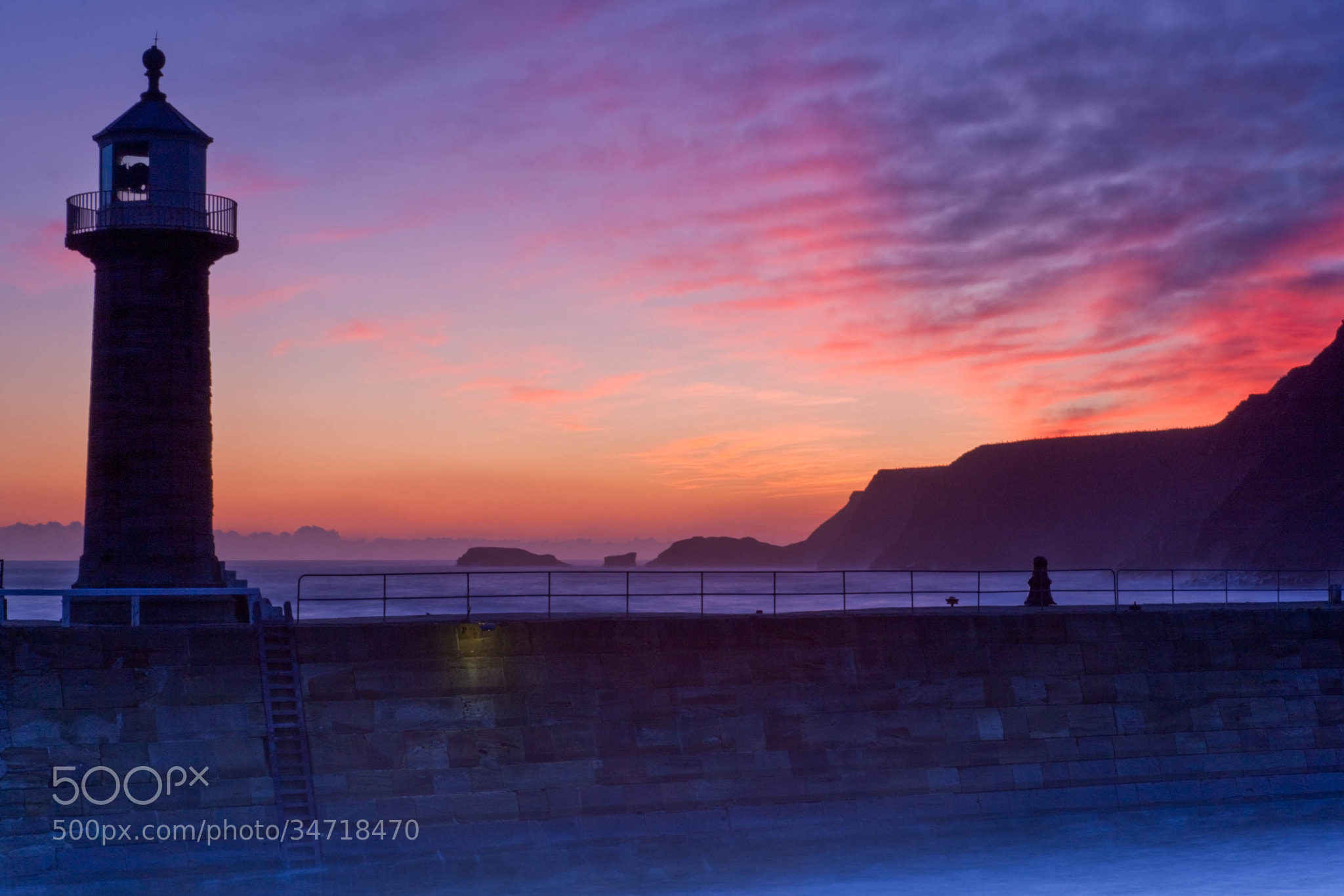 Photograph Whitby sunrise by Carl Mickleburgh on 500px