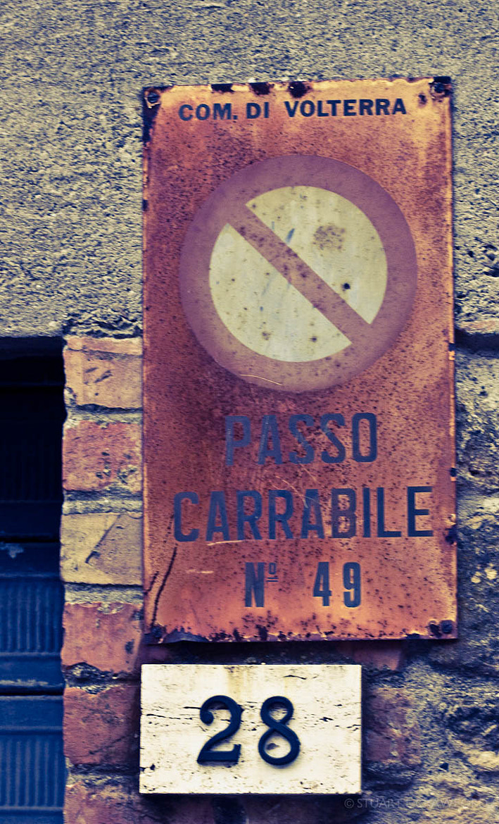 Photograph Rusted Sign by Stuart Crawford on 500px