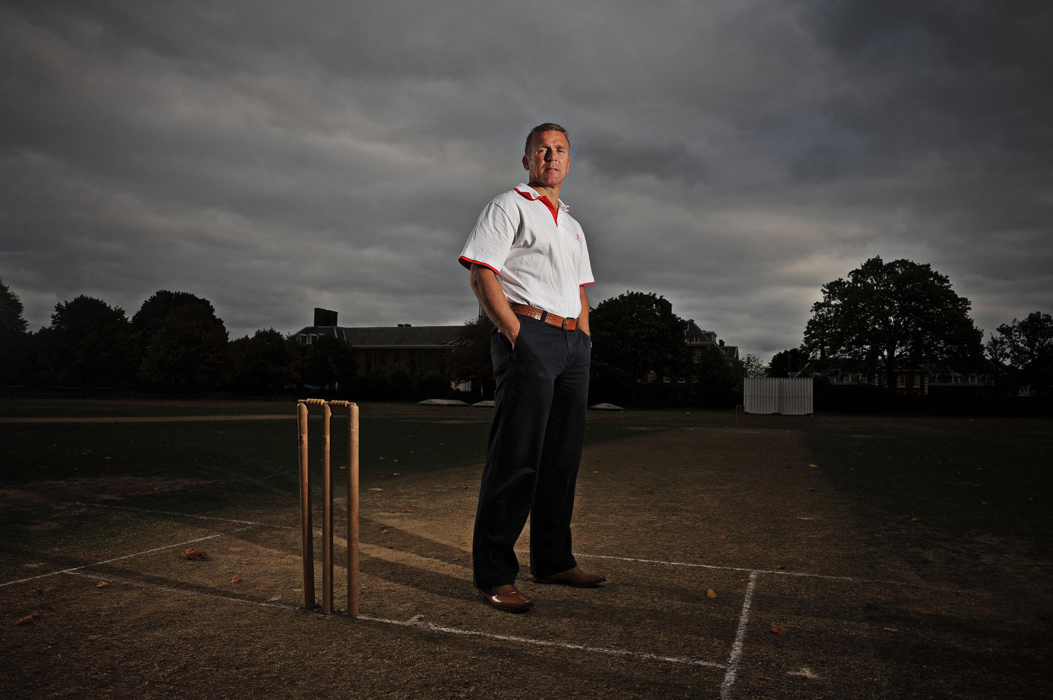 Photograph Alex Stewart, Former Cricketer by Daniel Lewis on 500px