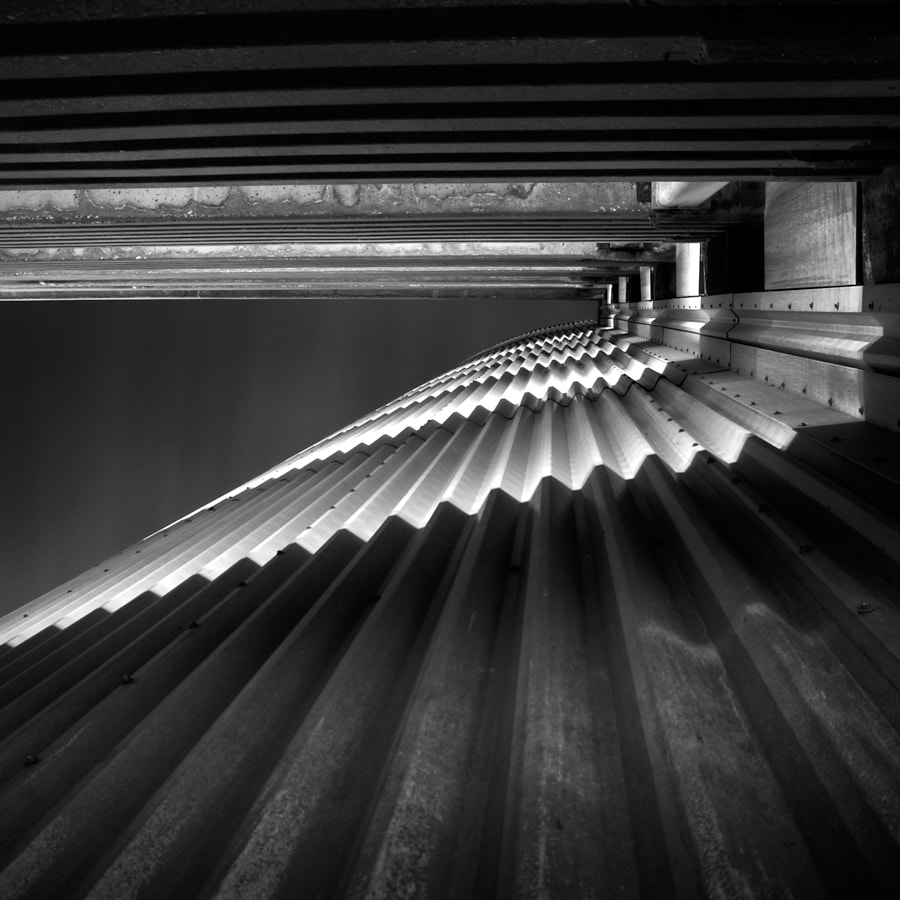 Photograph corrugated by Jon DeBoer on 500px