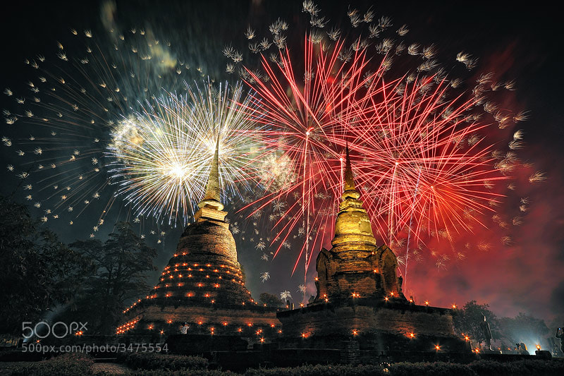 Photograph Loykrathong festival by joeziz Ekkachai on 500px