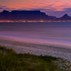 Table Mountain and Lions Head After Sundown