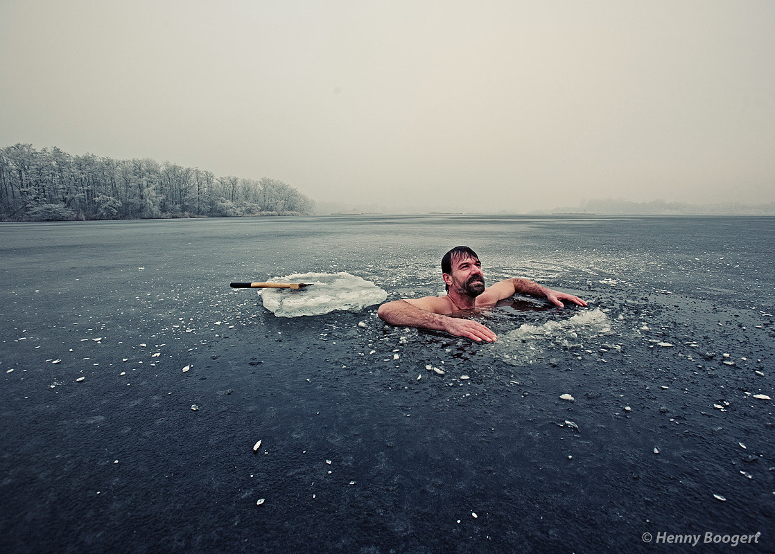 Photograph Wim Hof - Iceman by Henny Boogert on 500px
