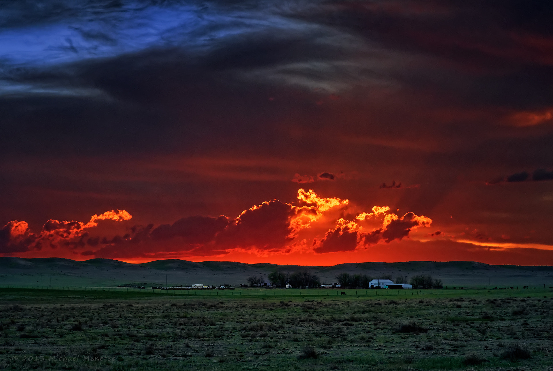 Photograph Spring Sunset on a Pawnee Ranch by Michael Menefee on 500px