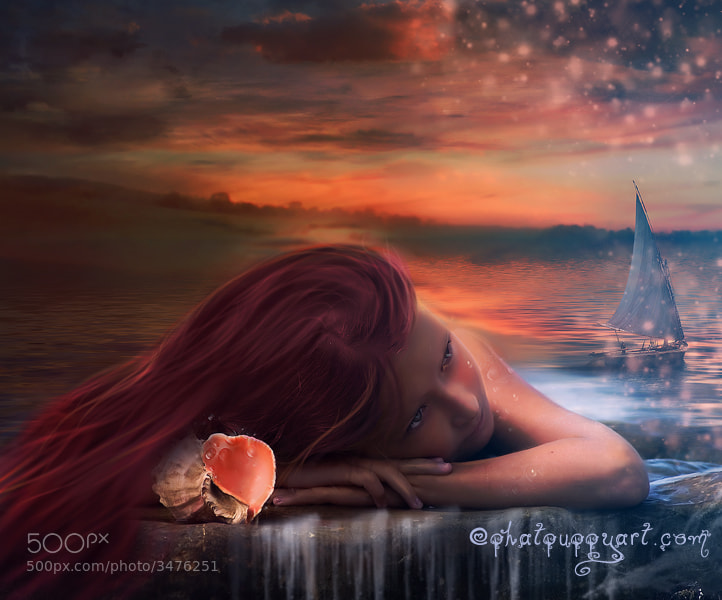Photograph Ariel's Daughter by Phatpuppy Art on 500px