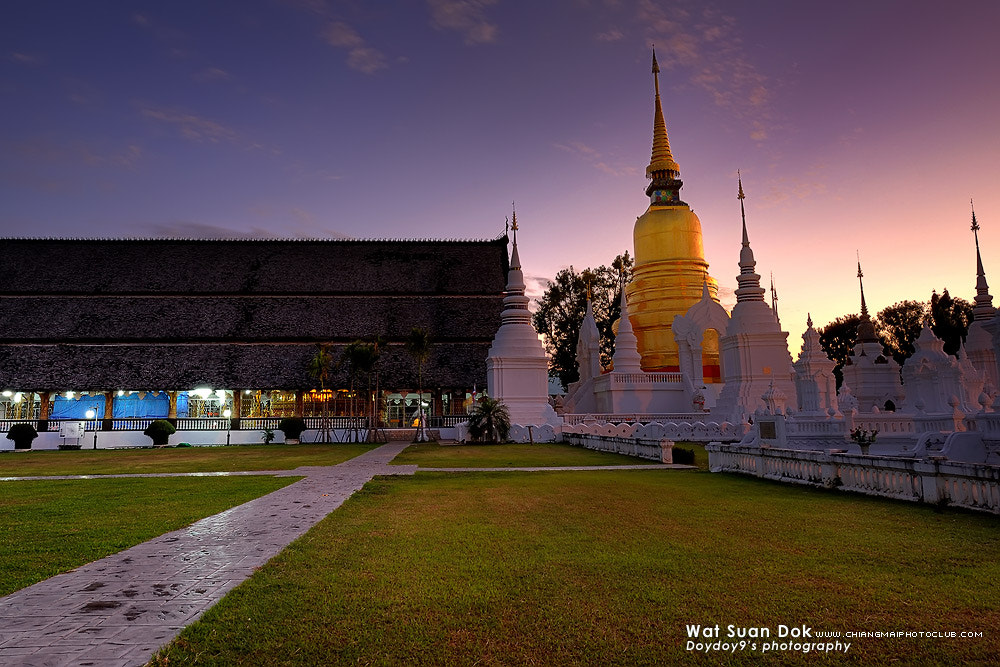 Photograph Suan Dok Temple by Doy Pdamobiz on 500px