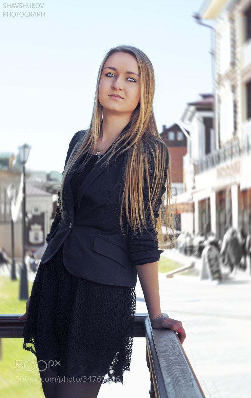 Photograph Girl by Anton Shavshukov on 500px