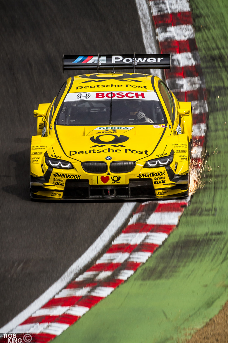 Photograph Timo Glock - BMW M3 DTM - 2013 by Robert King on 500px