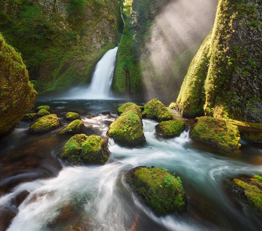 Photograph Wahclella Magic by Michael  Breitung on 500px