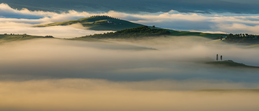 Photograph Tuscany fog and light by Hans Kruse on 500px