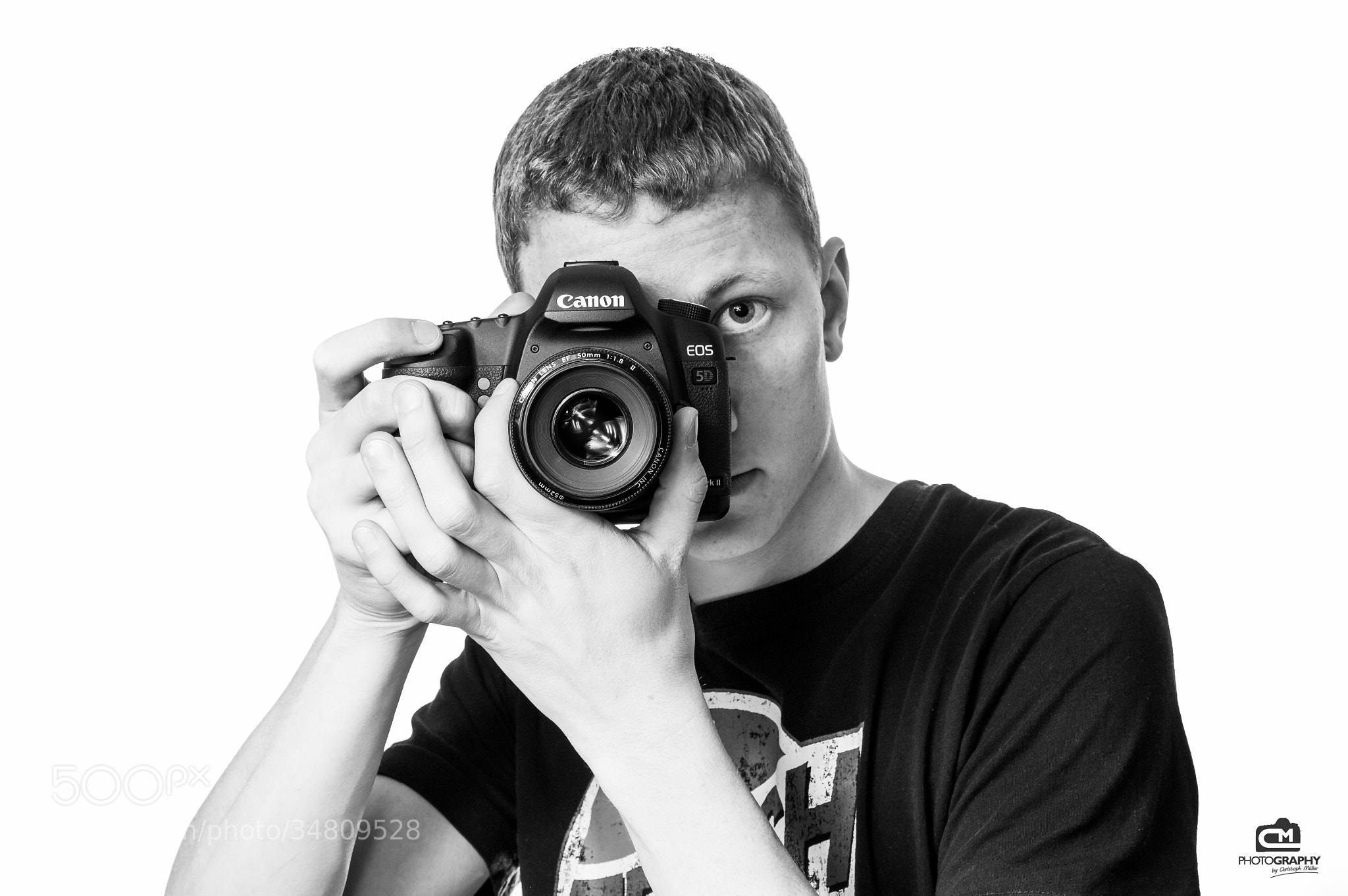 Photograph Me & my Canon 5D Mark II by Christoph Müller on 500px