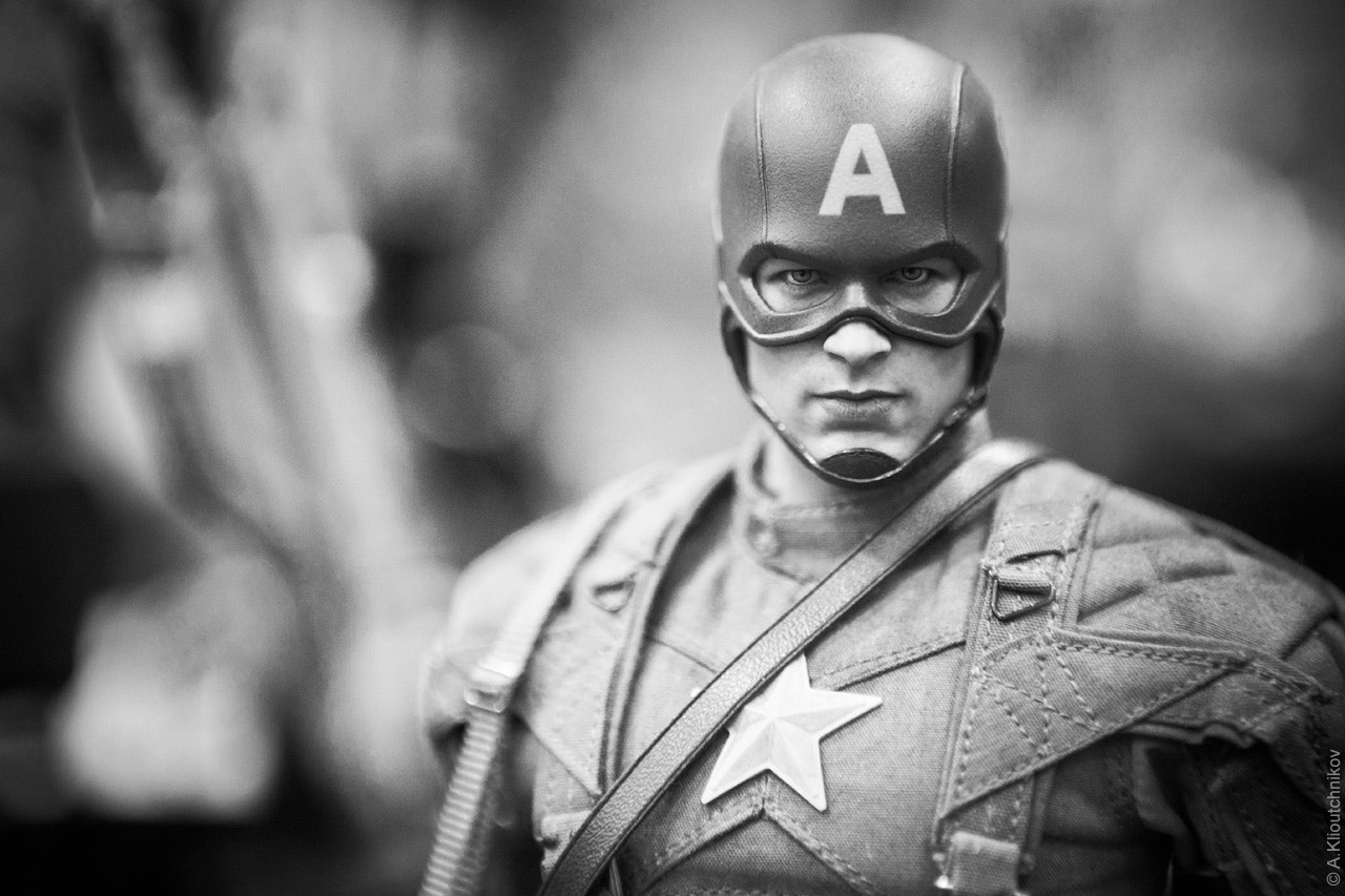 Photograph Captain America Collectible Figurine by Alex Kay on 500px
