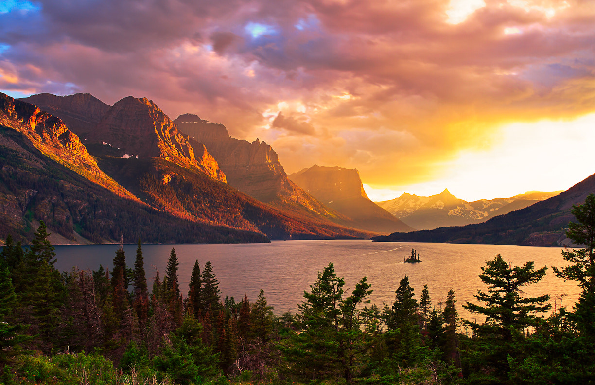 Photograph Wild Goose Island, Glacier National Park by Jason Persun on 500px