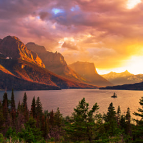 Wild Goose Island, Glacier National Park by Jason Persun (Jason_persun)) on 500px.com