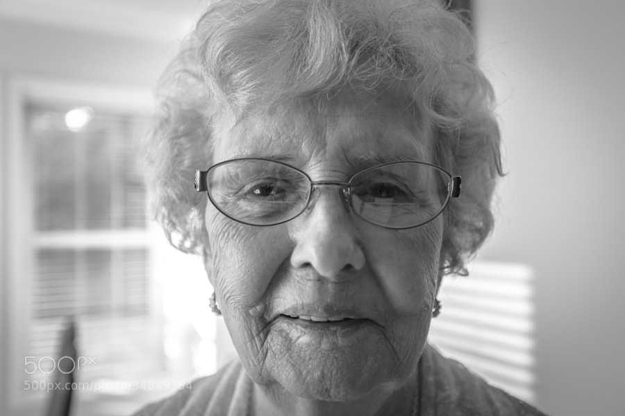 A picture of my beautiful grandmother