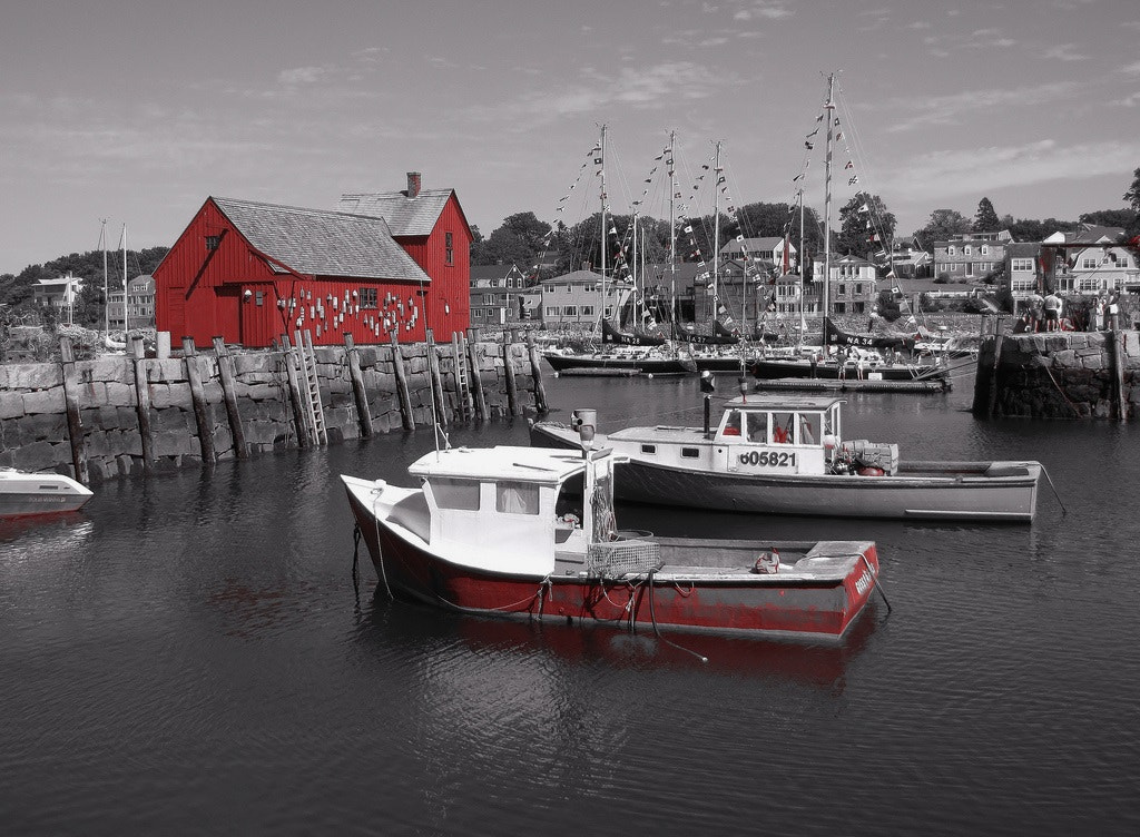 Photograph Rockport Massachusetts , Motif # 1   by Paul Wyman on 500px