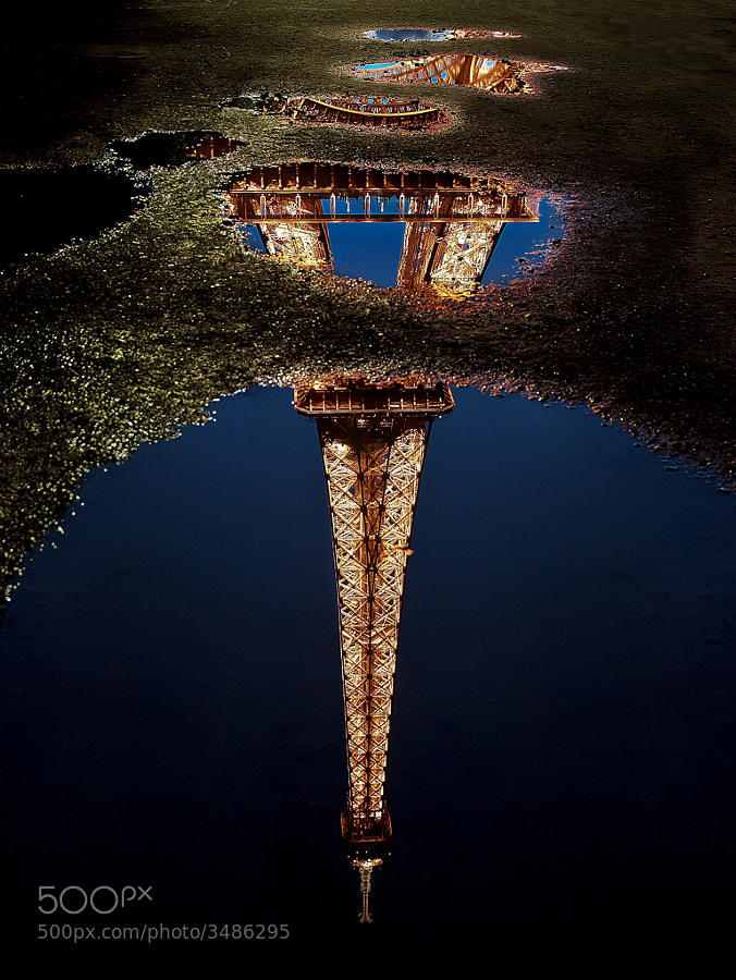 Reflections of an iconic tower by Kevin Pepper (kpepphotography)) on 500px.com